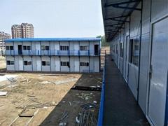临汾蒲县可回收岩棉板活动房 曲沃工地用组装式活动房