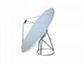 Six Panel Construction Satellite Dish