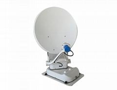 High Efficiency Parabolic Dish Automatic Satellite Tv Dish For Rv