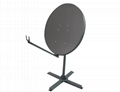 Ku-120cm steel VSAT satellite dish with