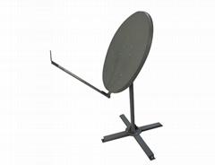 Ka 98cm VSAT satellite dish antenna steel made solid antenna