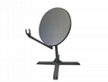 KA-74cm VSAT satellite dish with well
