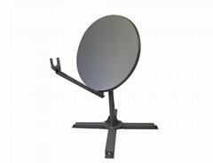 KA-74cm VSAT satellite dish with well designed reflector
