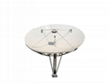 Ku band 4.5m satellite dish used in VSAT