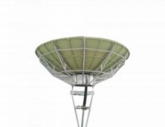 Ku band 3.7m satellite antenna with high accuracy reflector