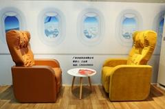 航空主题餐厅洽谈椅