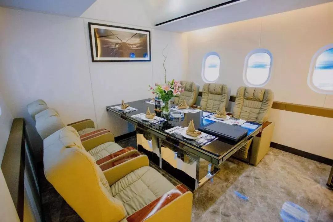 航空主題餐廳洽談椅 4
