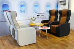 航空主題餐廳座椅