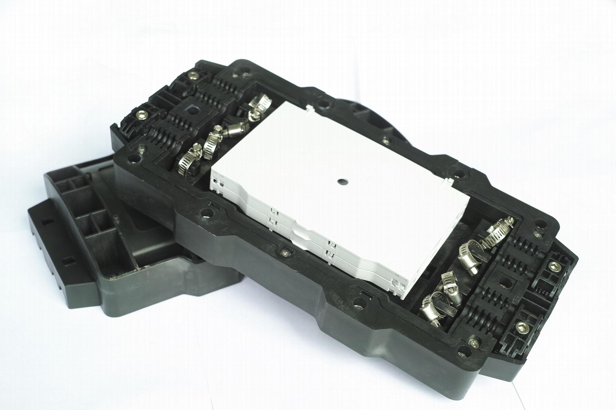 光纖通信FTTX帽式光纜街頭盒12芯 4