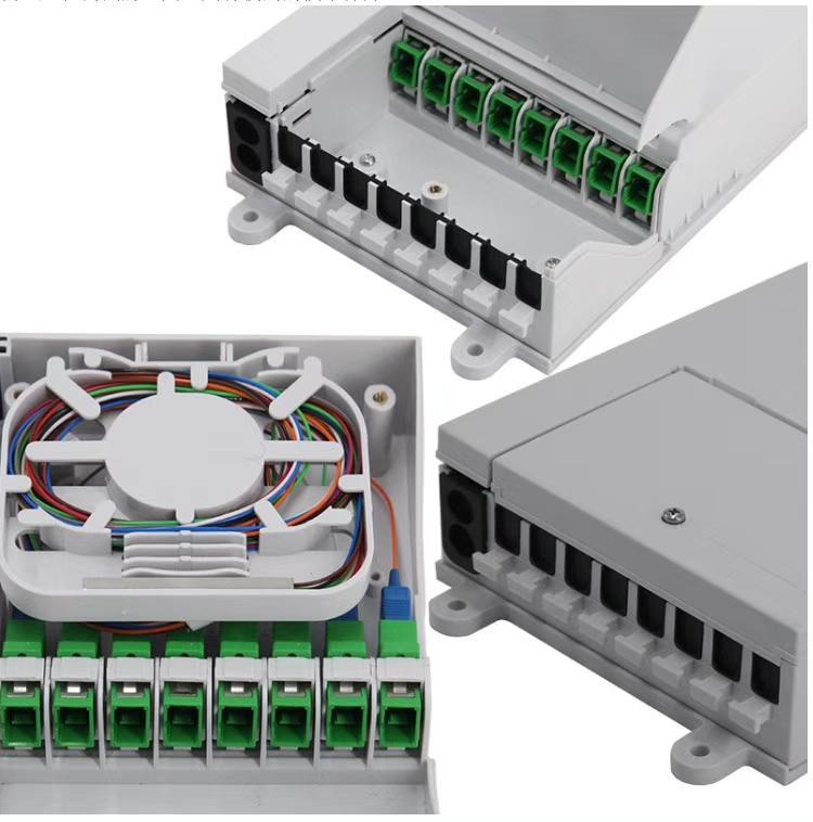 光纖分纖箱8芯盒子 1