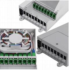 光纤分纤箱8芯盒子