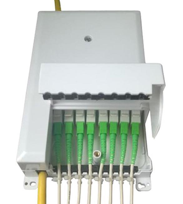 光纖分纖箱8芯盒子 4