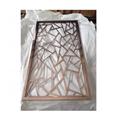 laser cutting perforated metal sheet