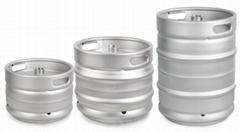 精酿啤酒桶 多种规格欧标桶304不锈钢 扎啤桶 自酿啤酒周转