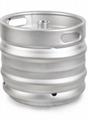 精酿啤酒桶 多种规格欧标桶304不锈钢 扎啤桶 自酿啤酒周转 2