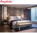 Ronghetai 5 star luxury Moderno Hotel furniture suite custom made metal fabric h 5