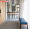Ronghetai Hot Sale Italian Classic Bedroom Set Bed Hotel Furniture (AQH7) 3