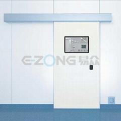 Translation sliding automatic door