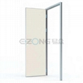 Medical lead protection door (door leaf