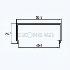 JH014B Aluminum profile for corner