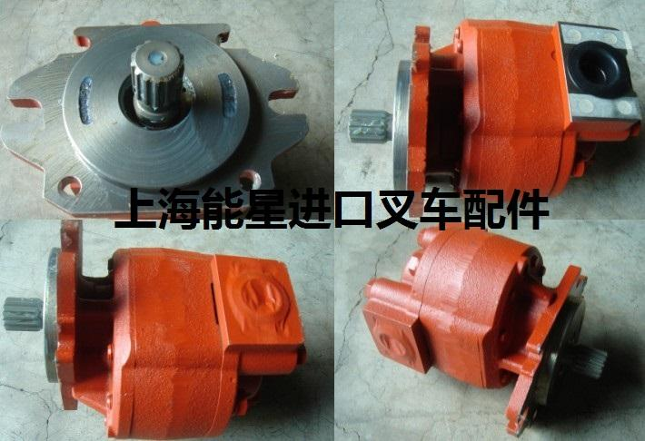 92G71-00100三菱6D16液压泵齿轮泵叉车配件岛津KAYABA 1