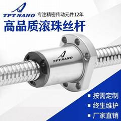 厂家直销TPT冷轧滚珠丝杆 高精度研磨模组丝杆 滚珠贴片机丝杆