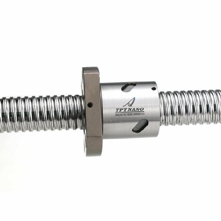 厂家直销TPT滚珠丝杆 高精密机床滚珠丝杠加工定制 插件机丝杆 5
