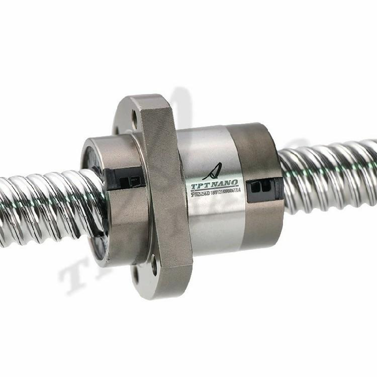 加工定制TPT丝杆传动模组SFI1605滚珠丝杠紧固件轴承支撑座丝杆 3