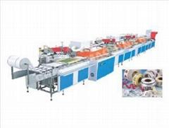SPR-300整卷式多色全自动丝网商标印刷机水洗标印花机唛头丝印机