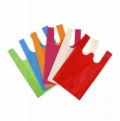 塑料袋定制印LOGO 订做手提背心袋 超市购物袋