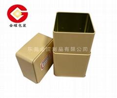 馬口鐵長方形茶葉罐 飾品包裝罐