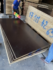 Manufacturer Price 12mm 18mm Film Faced Plywood for formwork