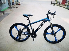 Adolescent student adult mountain bike Variable speed cross-country racing cycle