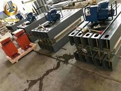 山东橡胶皮带接头硫化机 全自动LBD-1400电热式硫化机