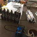 供应ZLJ系列组合式输送胶带硫化接头机 铝合金皮带硫化机 4