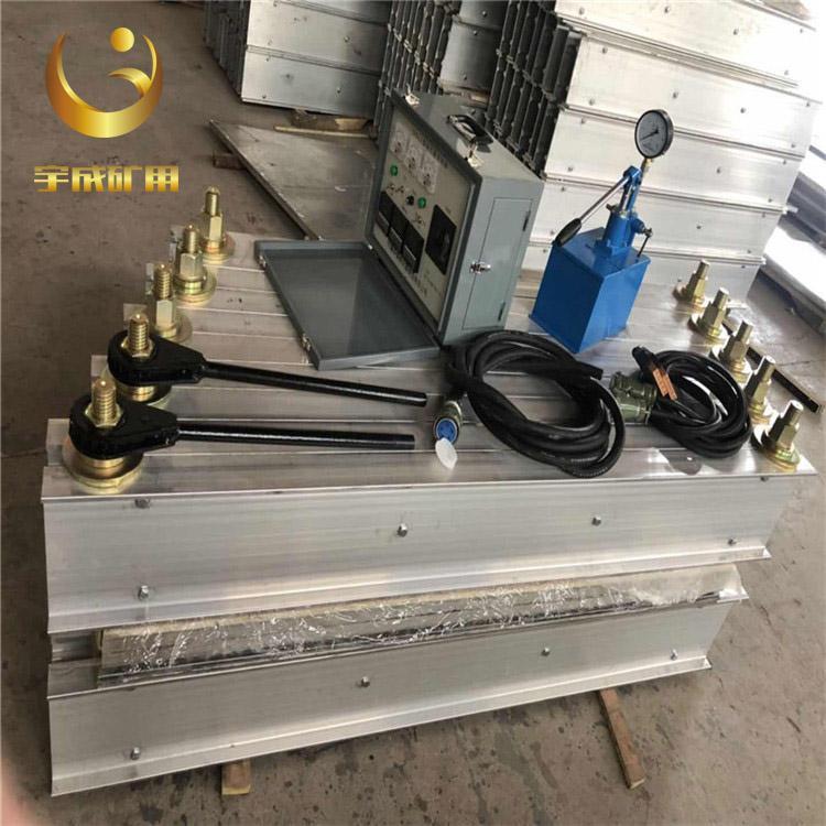 宇成ZLJ-1000×830胶带硫化接头机安装拆卸方便 1