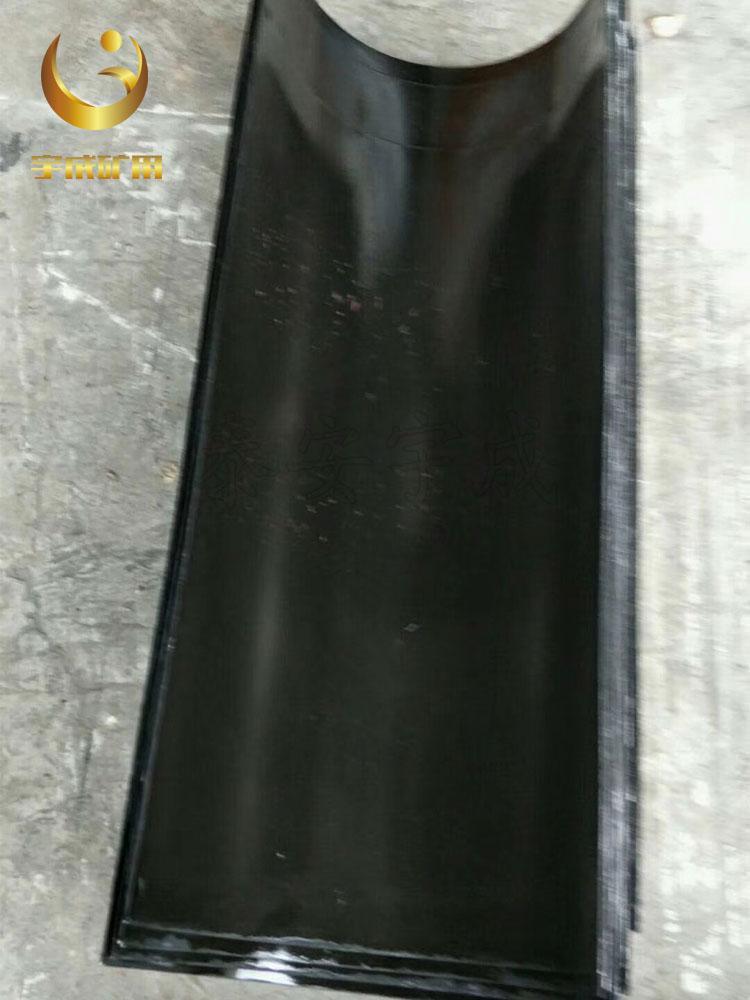 陕西1000*800*2.5搪瓷溜槽 耐磨耐用搪瓷溜槽批发 1