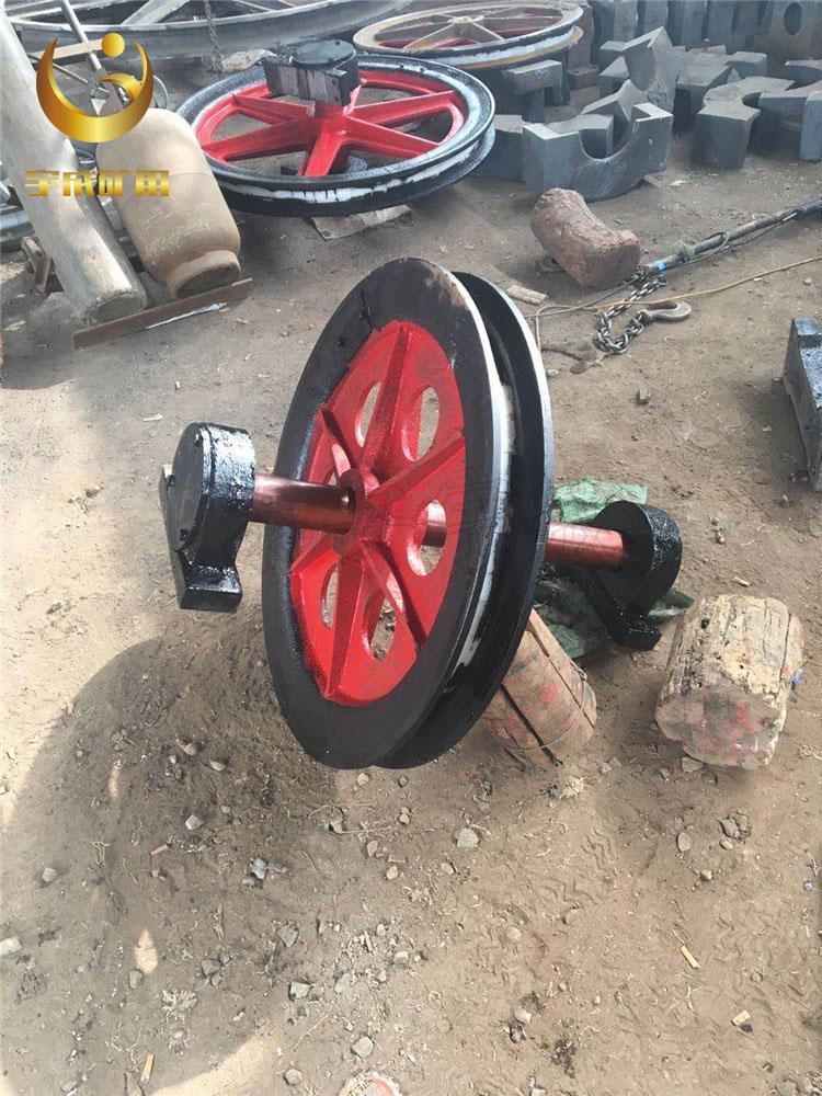 矿用立井固定天轮 800固定天轮宇成生产 2