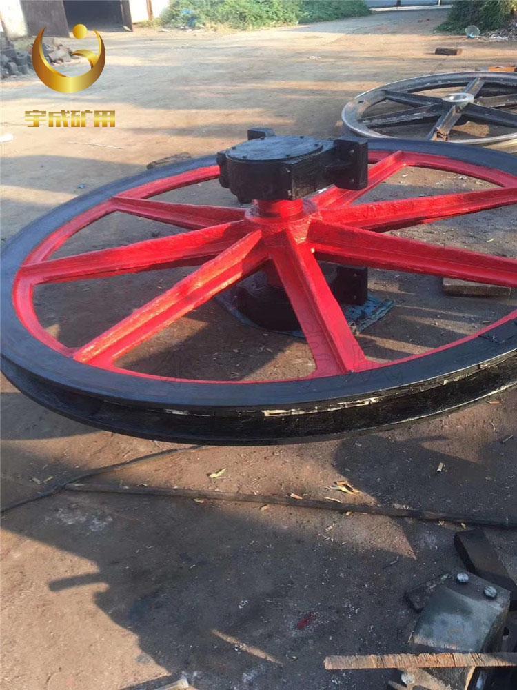 矿用立井固定天轮 800固定天轮宇成生产 3