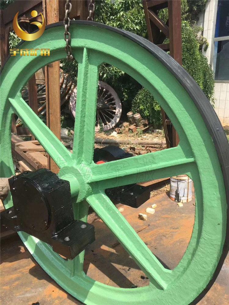 矿用立井固定天轮 800固定天轮宇成生产 4