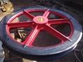 厂家生产1.6米固定天轮 矿用提升天轮耐磨耐用 3
