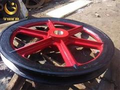 山西TLG-2000立井固定天轮 铸钢天轮价格优惠