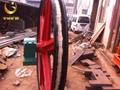 山西TLG-2000立井固定天轮 铸钢天轮价格优惠 5