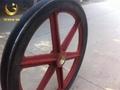 TDG矿用游动天轮 1.6米游动天轮带塑衬 2