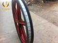 TDG矿用游动天轮 1.6米游动天轮带塑衬 3