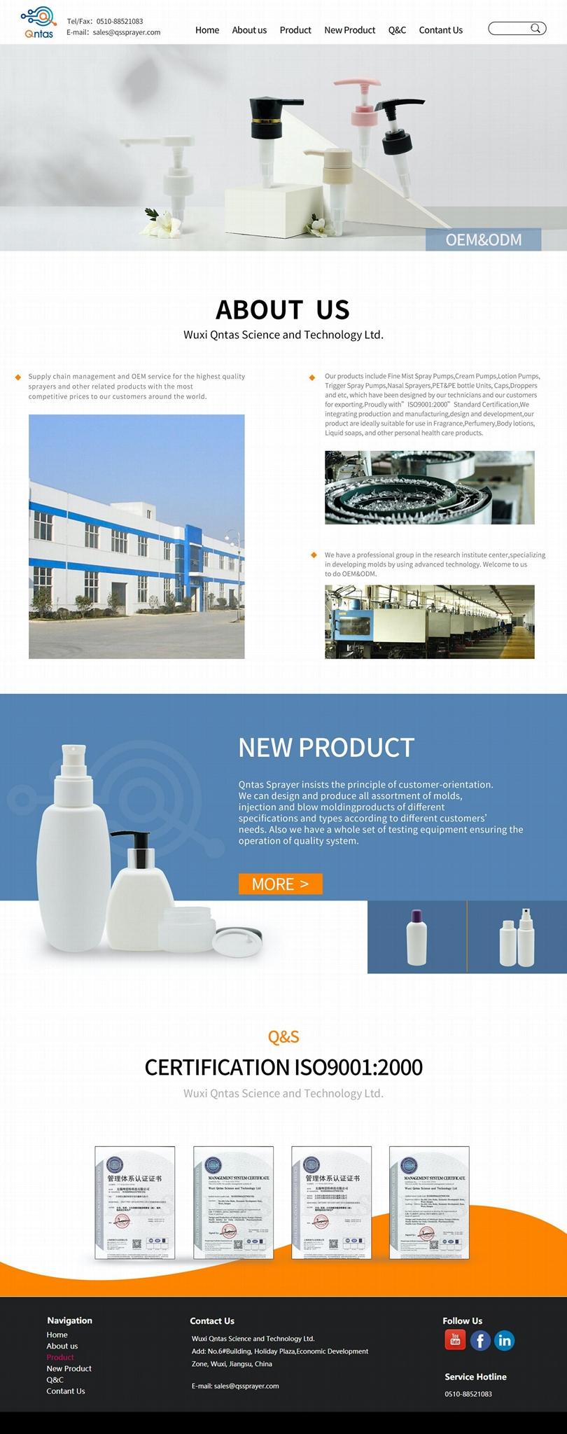Cream pump sprayer CR-01 42400 C23N 0.4ML 2