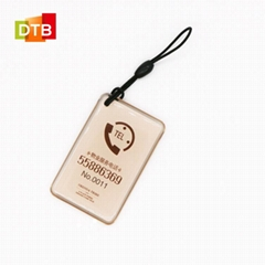Rfid epoxy rfid card