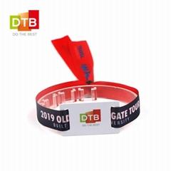 Rfid fabric wristband