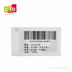 RFID Satin Fabric Tag