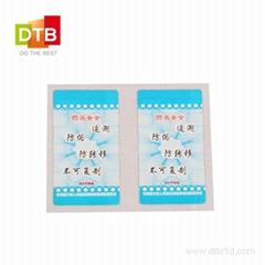 Tamper Proof RFID Tag
